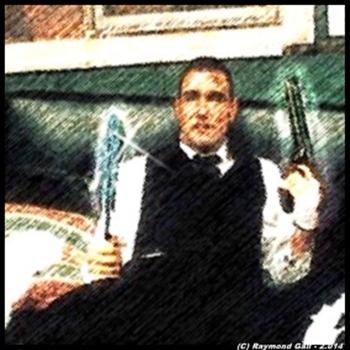 Mafioso tarantinesco sin serlo - (C) Raymond Gali