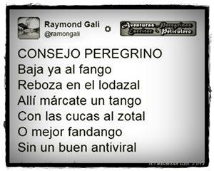Aventuras Peregrinas - Raymond Gali - ConsejoPeregrino2