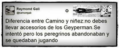 Aventuras Peregrinas - Raymond Gali - Geyperman